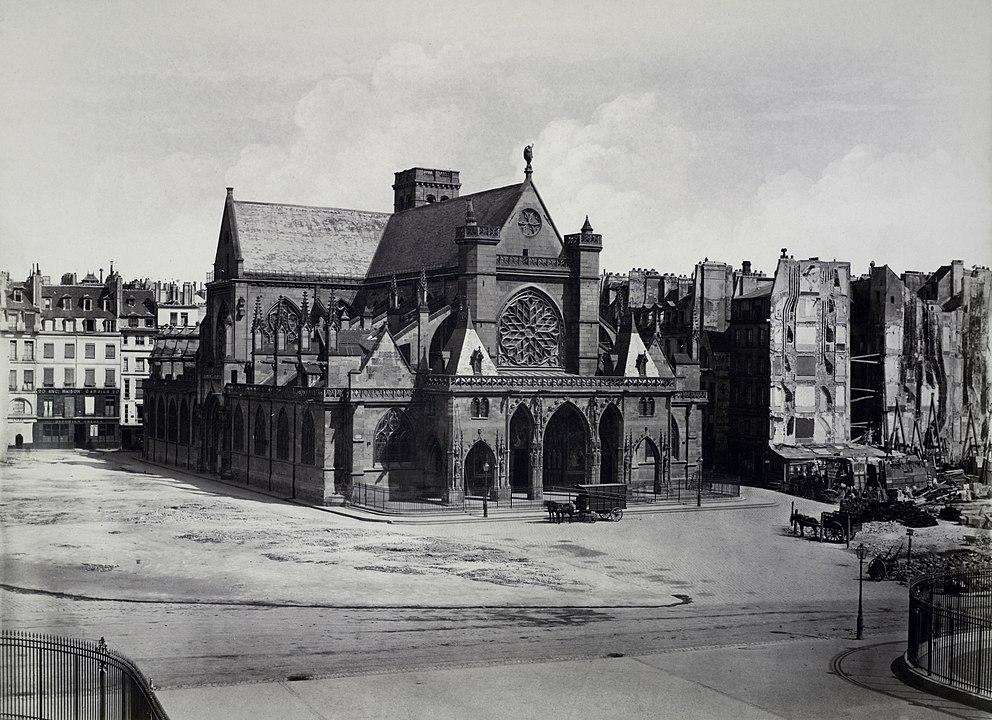 L'église Saint-Germain en 1858