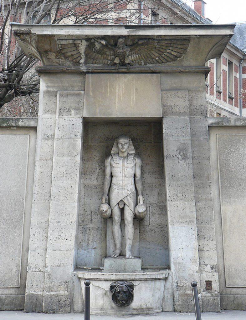 Fontaine du Fellah - Paris 7ème